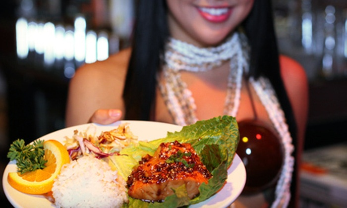 Tiki Terrace - Tiki Terrace - Des Plaines: Hawaiian Food at Tiki Terrace (Half Off). Two Options Available.