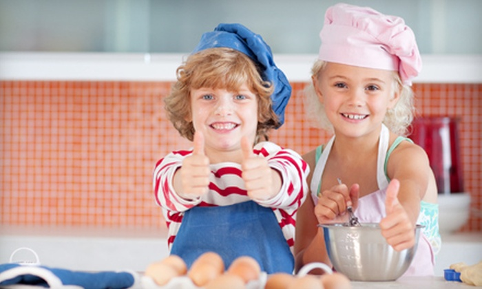 Chef It Up - Nutley: Mommy & Me or Junior Chefs Cooking Class, or Cupcake Crazy Class for One or Two Children at Chef It Up (Up to 72% Off)