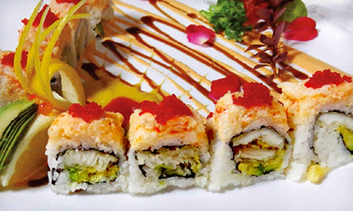 UKAI Sushi & Chinese - Plainfield: Sushi Meal for Two or Four at UKAI Sushi & Chinese (Up to 55% Off)