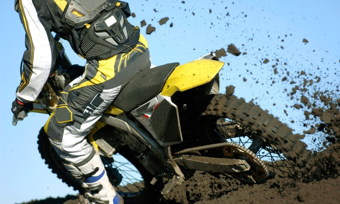 Jeeps Motorcycle Club - Park City: Two or Four Tickets to See a Flat-Track or Supercross Race from Jeeps Motorcycle Club (Up to 50% Off)