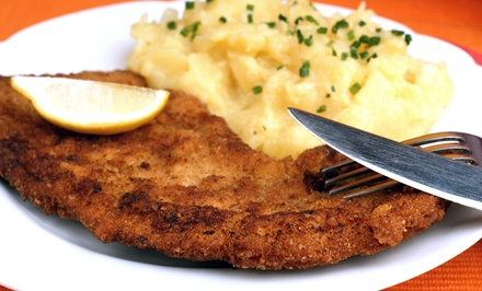 German Food for Two at Dreamland Palace German Restaurant (57% Off)