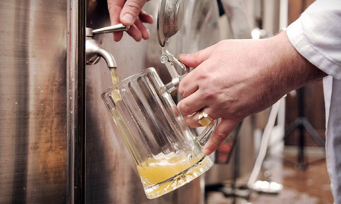 Barley & Wine - Modesto: Beginners' Brewing Class for One or Two or Wine Demo for Two at Barley & Wine (Up to 60% Off)