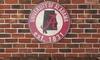 NCAA Vintage Distressed Sign: NCAA Vintage Distressed Sign
