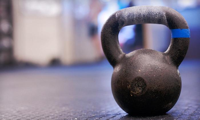 Crucible Krav Maga - Plano: 5 or 10 Kettlebell Fitness Classes at Crucible Krav Maga (Up to 74% Off)