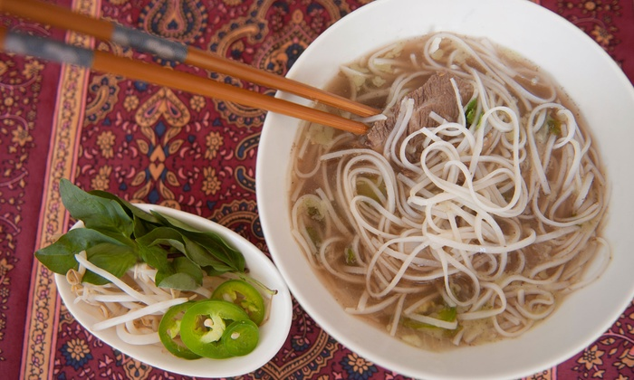 Simply Pho - Midtown: Vietnamese Food for Two or Four at Simply Pho (Up to 40% Off)