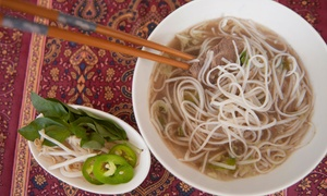 Simply Pho: Vietnamese Food for Two or Four at Simply Pho (Up to 40% Off)