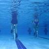 Séances d'aquabiking'running