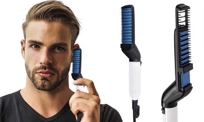 One or Two Envie Men's Electric Beard Straighteners