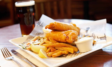 Gastropub Food at Burke's Irish Castle (Up to 50% Off). Two Options Available.