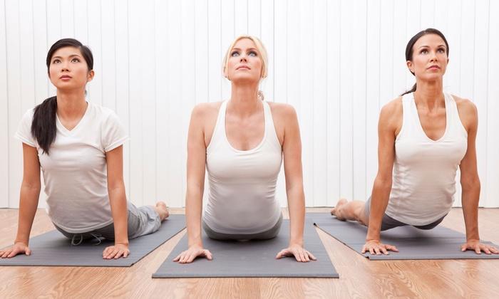 Go Inside Yoga Studio - Conway: 5 or 10 Yoga Classes at Go Inside Yoga Studio (Up to 55% Off)