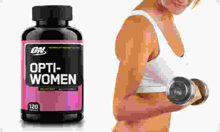 Optimum Nutrition Women's Multivitamins: Two- or Four-Month Supply of Optimum Nutrition Opti-Women Multivitamins (Up to 65% Off)