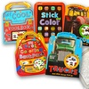 5-Pack of Coloring and Sticker Books