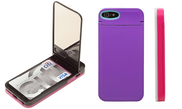 iphone 5s storage iphone 5 5s with mirror groupon goods 11254