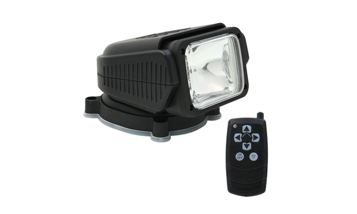 Remote-Activated Car-Top Searchlight: Remote-Activated Car-Top 1,000-Lumen Searchlight. Free Returns.