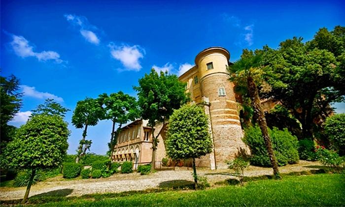 Visita guidata con degustazione di calici di vino e salumi per una, 2, 4, 6, 8 o 10 persone al Castello di Uviglie