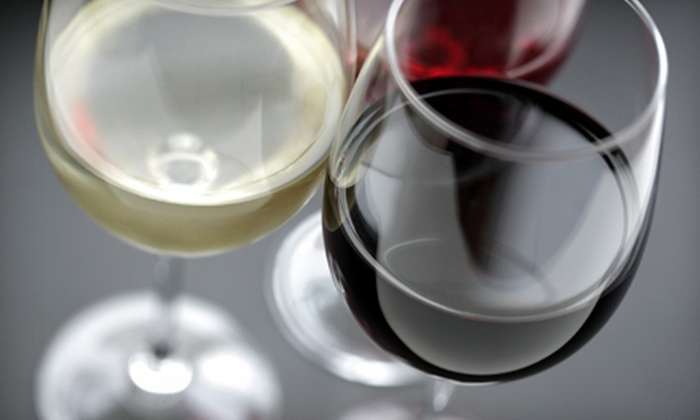 Friendly's Sports Bar and Grill - St. Louis: One or Two Bottles of Wine with a Cheese, Sausage, and Fruit Platter at Friendly's Sports Bar and Grill (Up to 55% Off)