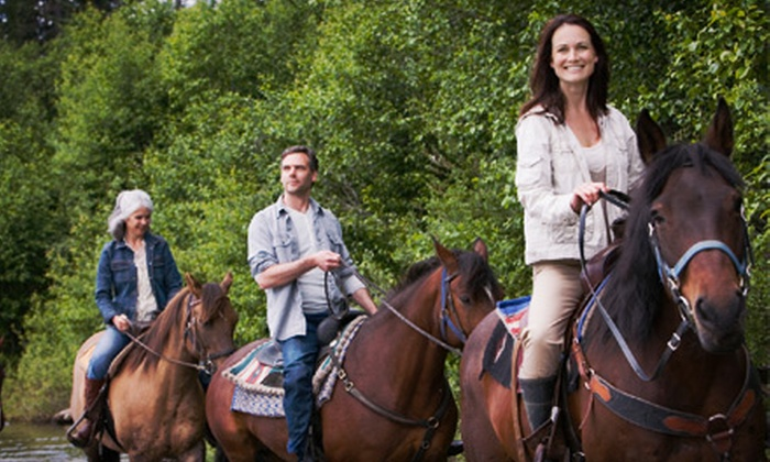 The Red Buffalo Ranch - Skippack: Two-Hour Guided Horseback Trail Ride for One or Two from The Red Buffalo Ranch (Up to 51% Off)