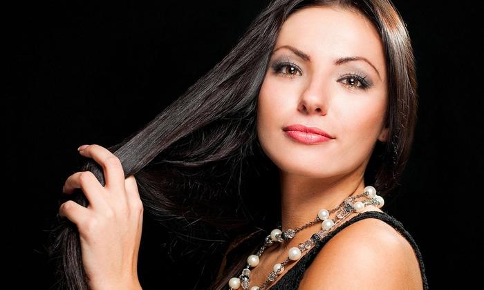 Claudetts Hair Studio - Gateway Plaza: Brazilian Blowout & Optional Cut, or Cut w/ Choice of Condition or Color at Claudetts Hair Studio (Up to 51% Off)