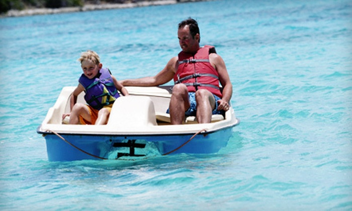 Bayside Boat and Tackle - Penfield: $19 for Two-Hour Paddleboat Rental for Two from Bayside Boat and Tackle ($40 Value)
