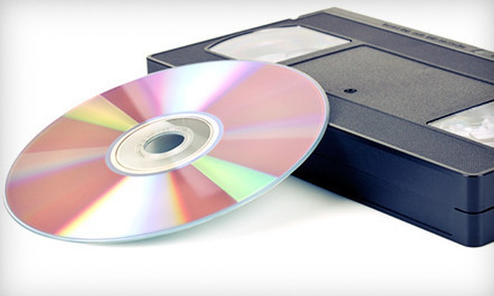 Memory Transfers - Sylvania: Transfer of 8mm Film or VHS Tapes to DVD at Memory Transfers (Up to 55% Off)