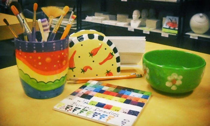 Let's Paint Pottery - Conyers: Pottery Painting for Two or Four at Let's Paint Pottery (Up to 54% Off)