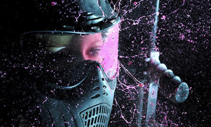 Adrenaline Paintball - Hamilton Road: Airsoft, Reball, or Paintball Package with Rental Gear and Ammo for Two or Four at Adrenaline Paintball (Up to 68% Off)
