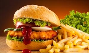 Sfrigolo: Menu hamburger a scelta tra manzo o pesce con patatine al ristorante Sfrigolo, in zona Prati (sconto 64%)
