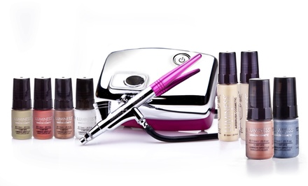 Luminess Air Heiress Airbrush Makeup System with Makeup Starter Kit and Eyeshadow. Multiple Foundation Colors Available.