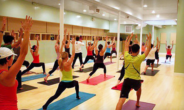 YogaHop - Multiple Locations: $45 for 10 Classes at YogaHop ($150 Value)