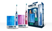 GROUPON: Sonic-FX Toothbrush with UV Sanitizer Sonic-FX Toothbrush with UV Sanitizer