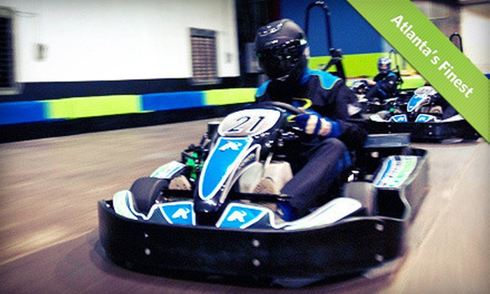 Andretti Indoor Karting & Games - Roswell: Go-Karts, Arcades, and Family Fun at Andretti Indoor Karting & Games (Up to 61% Off). Two Options Available.