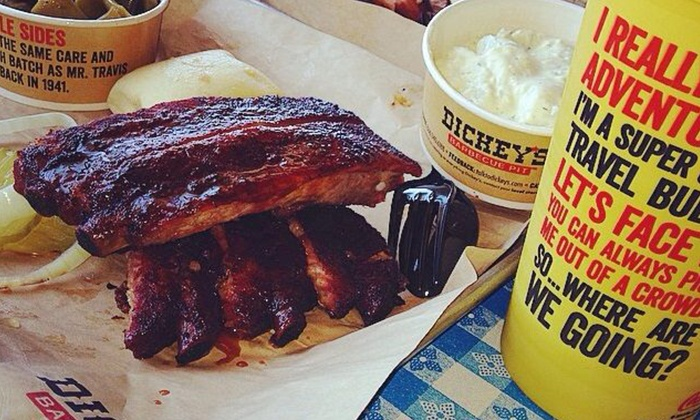 Dickey's BBQ Pit - Odessa: $12 for $20 Worth of Smokehouse Food and Drinks at Dickey's Barbecue Pit in Odessa