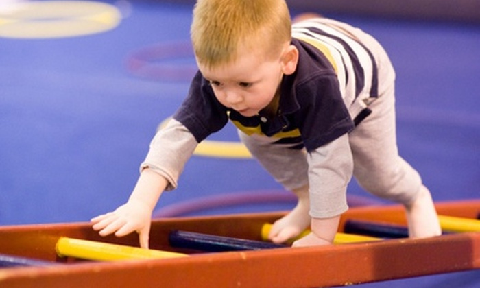 Xtreme Altitude Gymnastics - Multiple Locations: 12 Drop-In Playtime Visits, or 12-Week Preschool Gymnastics Program at Xtreme Altitude Gymnastics (Up to 64% Off)