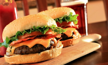 Pub Food and Drinks at Hard Water Bar and Grill (Up to 47% Off). Two Options Available.