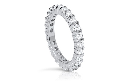 1.00 CTTW Diamond Eternity Band in 14K Gold by Bliss Diamond