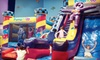 Pump It Up - Hartville: Unlimited Summer Bounce-House Outings or Three Pop-In Playtime Sessions at Pump It Up in Hartville (Half Off)