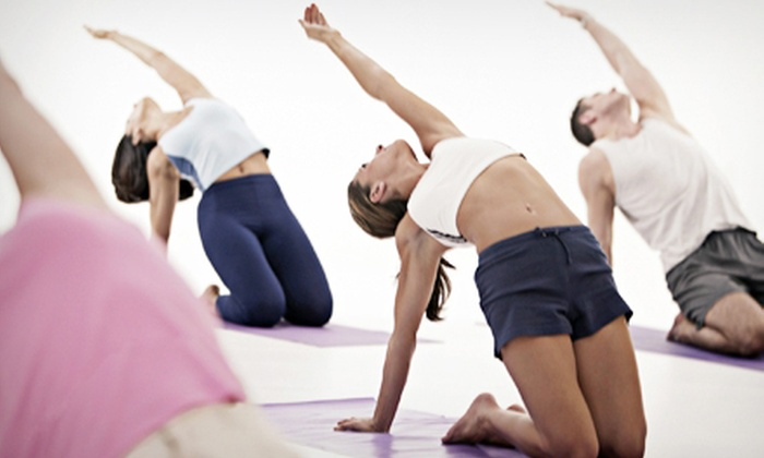 Eco Fitness and Blue Turtle Yoga - Multiple Locations: One Month of Unlimited Yoga Classes or 12 Full-Day Fitness Passes at Eco Fitness and Blue Turtle Yoga (Up to 62% Off)