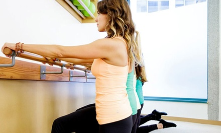 4 or 10 Group Fitness Classes at The Dailey Method Barre Studio (Up to 48% Off)