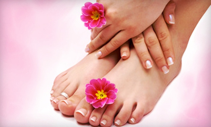 Queen Nails - Arapaho: One or Two Manicures and Spa Pedicures at Queen Nails (Up to 54% Off)