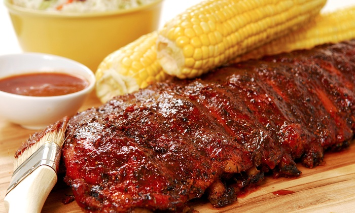 Roadside Ribs - Hendersonville: Barbecue Dinner for Takeout from Roadside Ribs (Up to 44% Off). Two Options Available.
