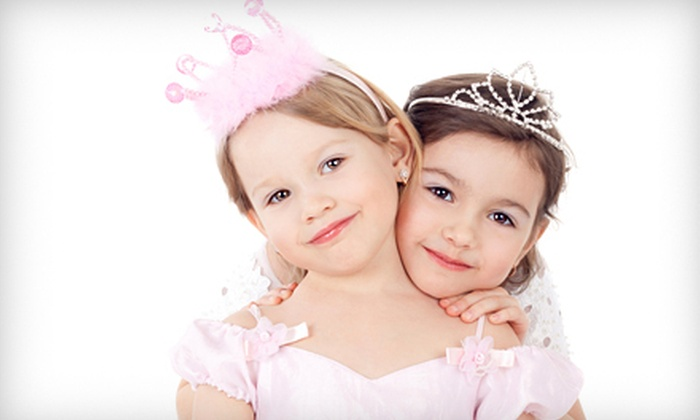 Parteaz - Maplewood: Princess Tea Party and Playdate, or Afternoon or Evening Kids' Spa Experience with Snacks at Parteaz (Up to 53% Off)