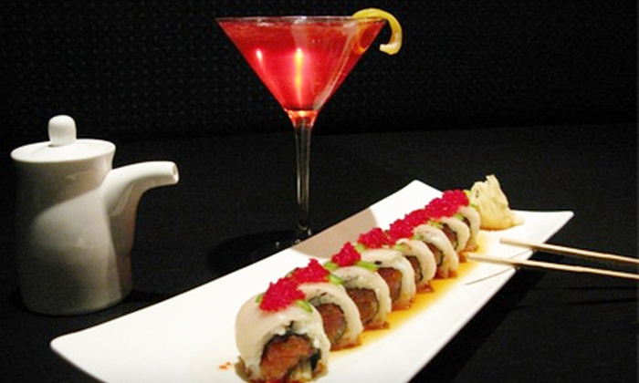 Blue Ginger Sushi Lounge - Belmont: $15 for $30 Worth of Japanese Fare and Drinks for Dinner at Blue Ginger Sushi Lounge in Woodridge