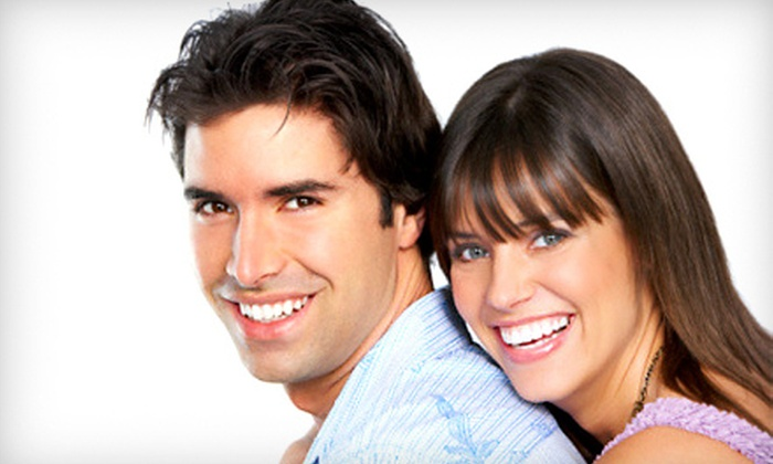The Perfect Smile - Multiple Locations: Take-Home Teeth-Whitening Kit or One or Five In-Office Whitening Treatments at The Perfect Smile (Up to 82% Off)