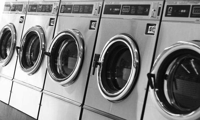 Busy Bubbles Laundromat - Cypress Gardens: Wash, Dry, and Fold Service for 20 or 40 lbs. of Laundry or Two Comforters at Busy Bubbles Laundromat (50% Off)