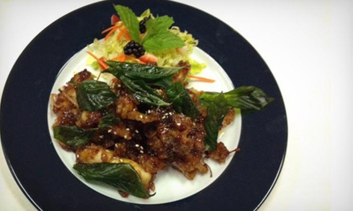 Hot Basil Cafe - Concord: Indian and Thai Cuisine for Lunch or Dinner for Two or More at Hot Basil Cafe (Half Off)