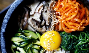 Bann Restaurant: $24 for $40 Worth of Korean Cuisine, Valid Sunday-Thursday at Bann Restaurant