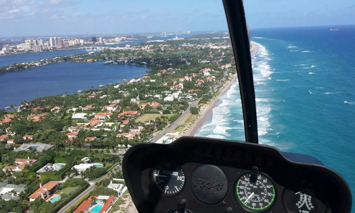 Boca Raton Helicopters - Boca Raton: $140 for an Introductory Helicopter-Flying Course with 12-Minute Flight from Boca Raton Helicopters ($250 Value)