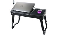 GROUPON: Multifunctional Laptop Table Stand with Built-in Cool... Multifunctional Laptop Table Stand with Built-in Cooling Fan