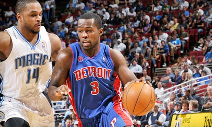 Detroit Pistons - Auburn Hills: One G-Pass Ticket to See a Detroit Pistons Game at The Palace of Auburn Hills. Three Seating Options and Four Games Available.