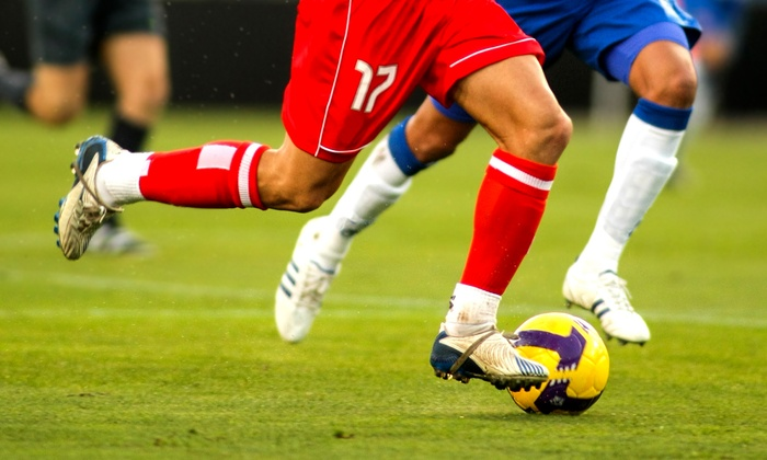 Grand Blanc Soccerzone - Circle Drive: $23 for an Eight-Week Adult Beginner Coed Soccer League at Grand Blanc Soccerzone ($85 Value)